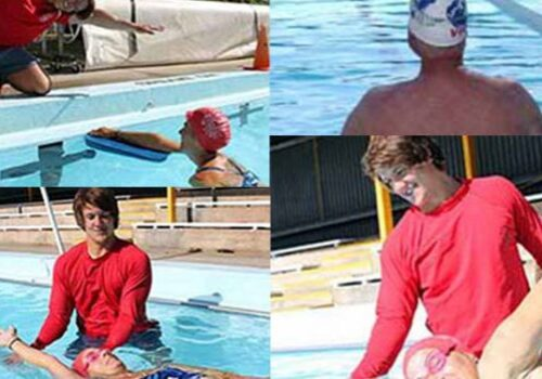 friendly adult swimming classes